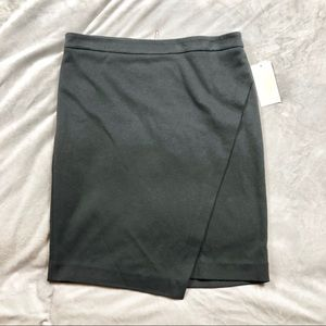 NWT Michael Kors Asymmetrical skirt zipper exposed